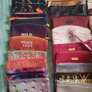 IPSY make up bags and extras